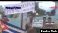 Condenan a opositor cubano por supuestos delitos de atentado y daños