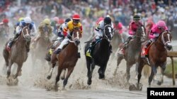 Foto del Kentucky Derby 145, celebrado el pasado año. (Foto Brian Spurlock-USA TODAY Sports)