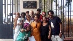 Artistas convocan a sentada pacífica frente al Ministerio de Cultura
