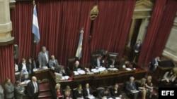 Fotografía de archivo del Congreso Nacional argentino.