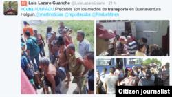 Reporta Cuba Transporte Holguín. Foto: Luis Lázaro Guanche.