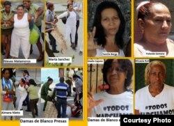 Varias Damas de Blanco han sido detenidas y otras amenazadas con ser condenadas a prisión.