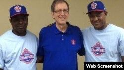 (i-d) Donald Duarte, Miles Wolff y Alexander Malleta.Foto tomada de ottawachampions.com