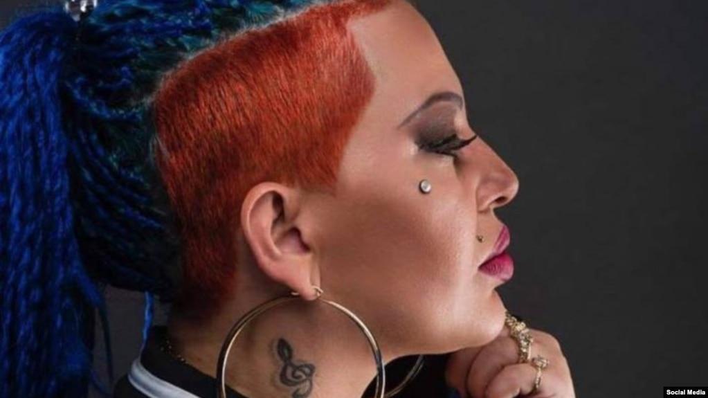 La cantante cubana de rap Dianelys Alfonso Cartaya, La Diosa (Foto: Facebook).