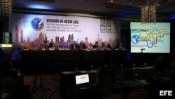 Reunión de medio año de la Sociedad Interamericana de Prensa (SIP), en Ciudad de Panamá. Archivo.