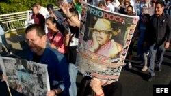 México deplora muerte de otro periodista tras un año del asesinato de Valdez.