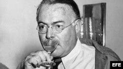 El escritor estadounidense, Ernest Hemingway.