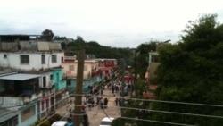 Cubana fue detenida por reclamar cerca la casa de Díaz Canel
