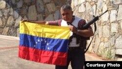 El ex general del Ejército de Venezuela, Ángel Vivas.