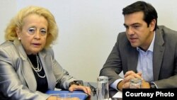 La jurista Vasiliki Thanou ha sido nombrada primera ministra interina de Grecia por el presidente Prokopis Pavlópulos.