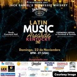 Premios a la Música Latina en el estado de Kentucky.