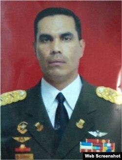 El coronel de la Guardia Nacional Bolivariana, Pedro Zambrano Hernández, también arrestado.