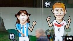 La final del Mundial - Alemania y Argentina
