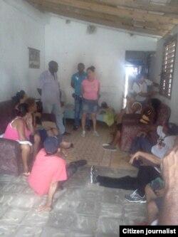 Reporta Cuba. Reunión de activistas FANTU, octubre 7. Foto: Yoel Bencomo.