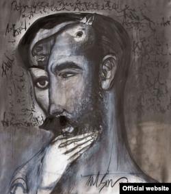 """Una obra de Nelson Domínguez titulada """"Almas Gemelas""""."""