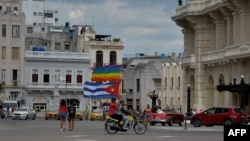 Marcha en mayo del 2019 en La Habana