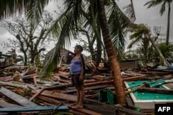 Devastación y desamparo muestra esta imagen del paso de Iota por Nicaragua