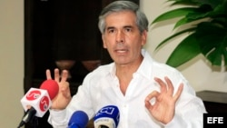 Yesid Reyes, ministro de Justicia de Colombia.