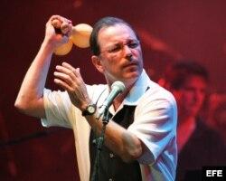 El cantante panameño, Rubén Blades.