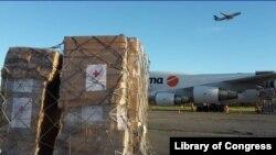Un envío de 34 toneladas de ayuda humanitaria arribó a Venezuela este miércoles, 31 de julio, procedente de Italia.