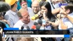 Oposición venezolana continua presionando a Maduro en las calles