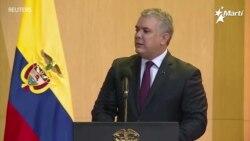 Iván Duque, pidió a Estados Unidos que declare al régimen de Maduro como patrocinador del terrorismo
