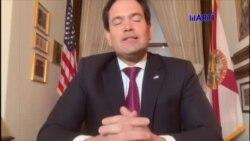 Senador Marco Rubio envía un mensaje a los cubanos por Radio Televisión Martí