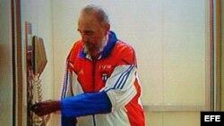 Imagen tomada de la TV cubana.