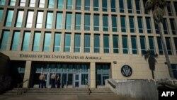 Fachada de la Embajada de Estados Unidos en La Habana (Foto: Archivo).