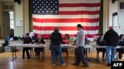 Votantes en las elecciones de medio mandato.