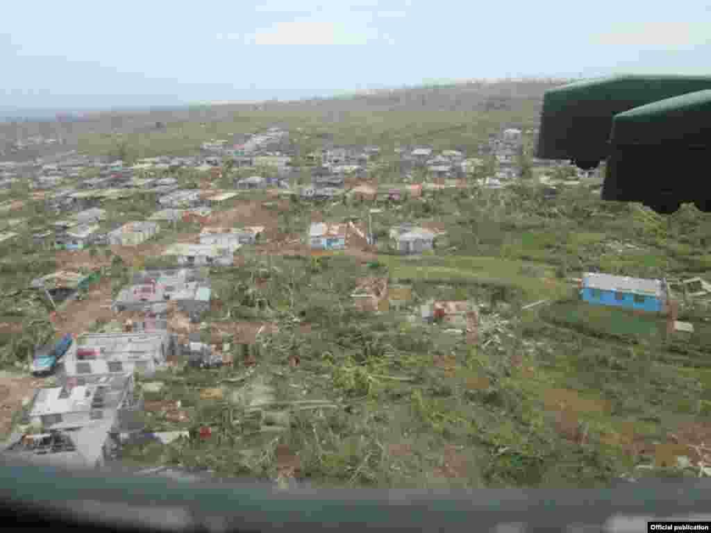 Vista de Maisí. Tomada de Venceremos