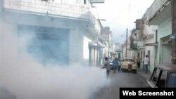 Cuba fumigación