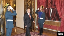 Putin dirigió la formación del gabinete