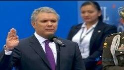 Iván Duque jura como presidente de Colombia