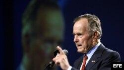Archivo - El ex presidente de los Estados Unidos, George W. Bush.