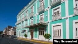 Hotel La Unión, en Cienfuegos.