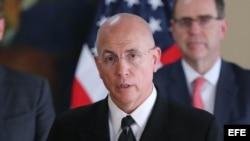 El nuevo jefe del Comando Sur de Estados Unidos, el almirante Kurt W. Tidd. EFE
