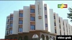 Vista del hotel Radisson Blu de Bamako, atacado por extremistas islámicos.