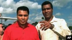Mohamed Ali y Teofilo Stevenson