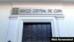 Sede de la presidencia del Banco Central de Cuba.