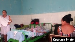 Sala de hospital de Baracoa (Tomado de Twitter de Emilio Almaguer)