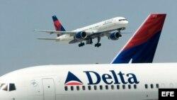 Avión de Delta AirLines. Archivo.