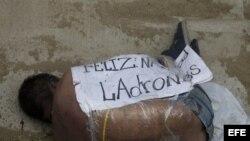 Honduras durante las fiestas de Nochebuena, cifra que supone una disminución de 30 víctimas en relación al año pasado.