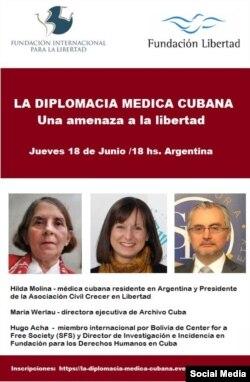Evento sobre diplomacia médica cubana