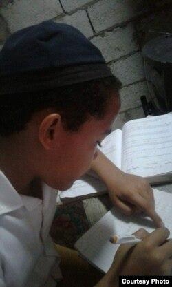 Leosdán Martínez, de 12 años de edad.