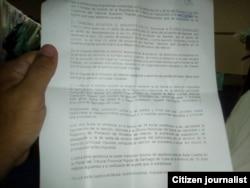 Fallo del tribunal en el caso del cuentapropista Eldris González Pozo