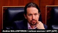 El político español Pablo Iglesias.