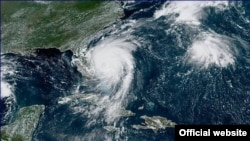 Imagen del satélite del huracán Dorian, este martes, 3 de septiembre. (NHC)