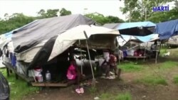 Migrantes cubanos enfrentan el coronavirus en la selva panameña