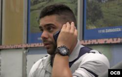 Orlando García, avileño de 28 años, ya en Laredo.